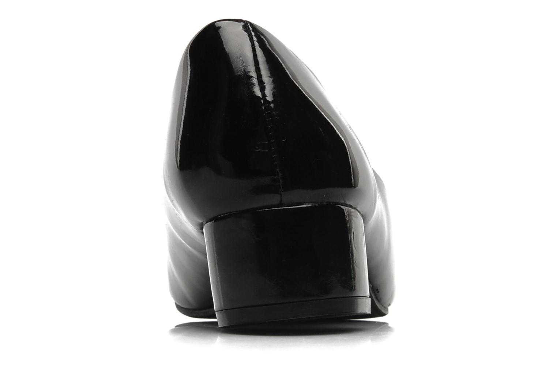 Zapatos de tacón Eclipse Ballerine Clémence Negro vista lateral derecha
