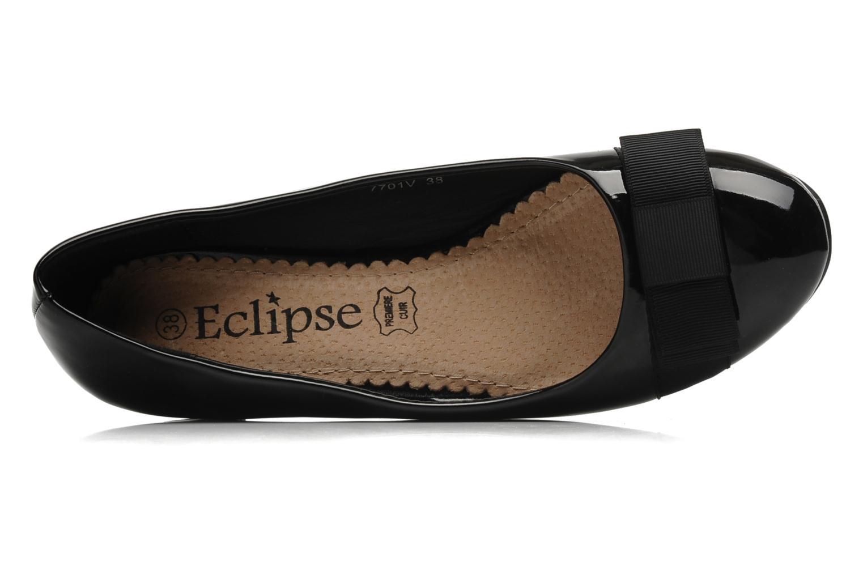 Zapatos de tacón Eclipse Ballerine Clémence Negro vista lateral izquierda