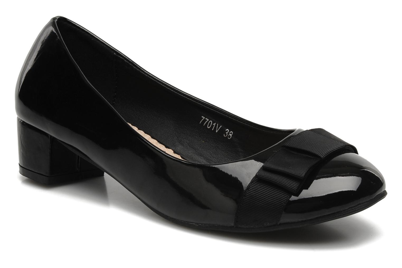 Zapatos de tacón Eclipse Ballerine Clémence Negro vista de detalle / par
