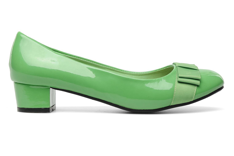High heels Eclipse Ballerine Clémence Green back view