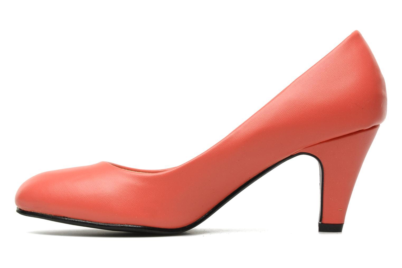 High heels Eclipse Escarpin Moyen Talon Red front view