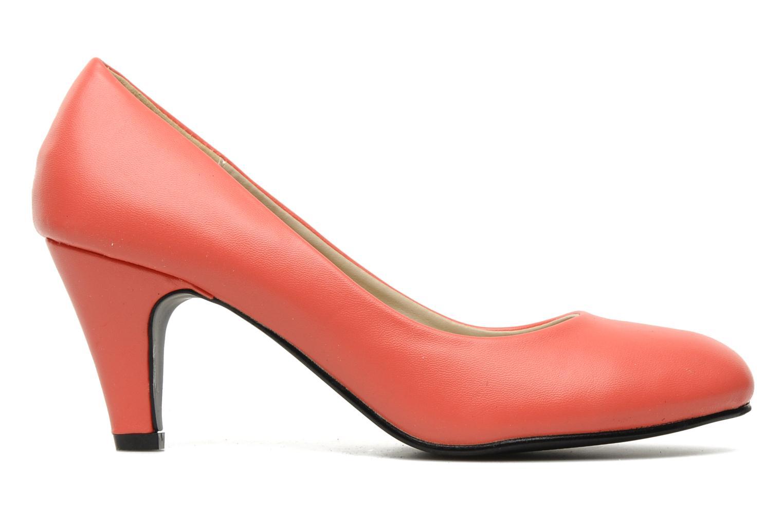 High heels Eclipse Escarpin Moyen Talon Red back view