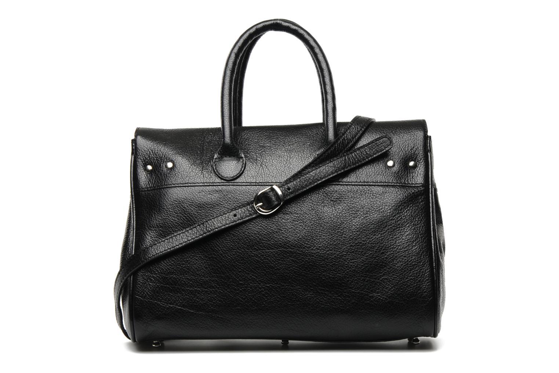 Handtaschen Mac Douglas BUFFLE Pyla Buni XS schwarz ansicht von vorne