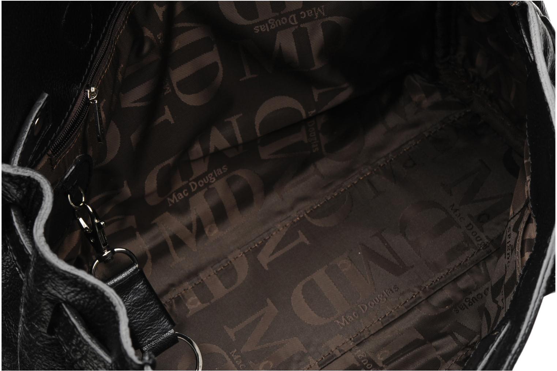 Handtaschen Mac Douglas BUFFLE Pyla Buni XS schwarz ansicht von hinten