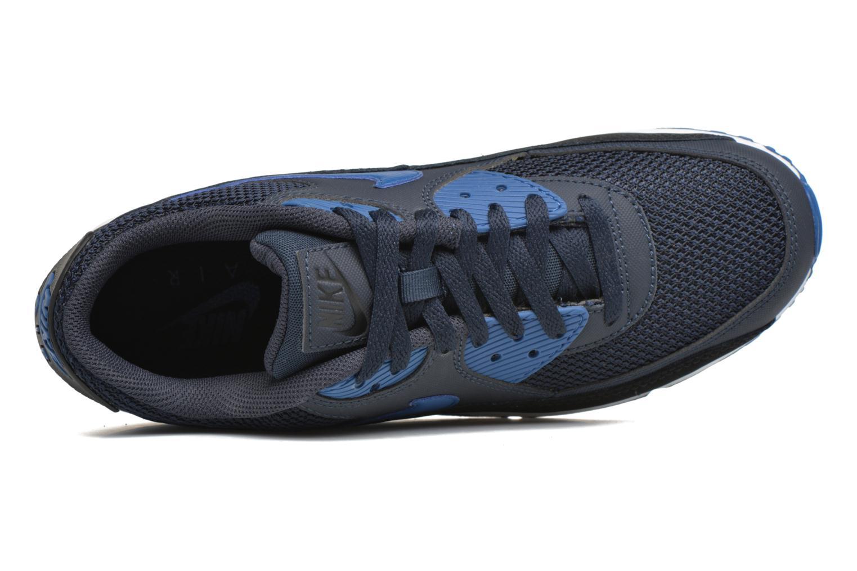 Sneaker Nike Nike Air Max 90 Essential blau ansicht von links