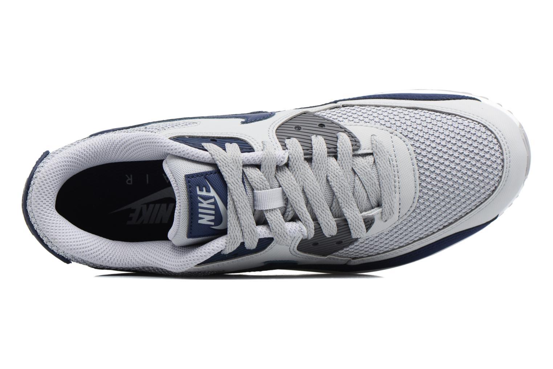 Sneaker Nike Nike Air Max 90 Essential grau ansicht von links