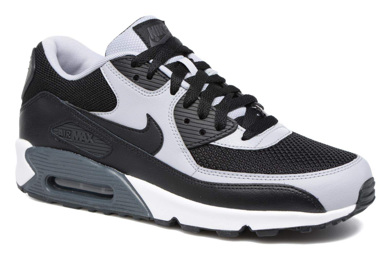 Deportivas Nike Nike Air Max 90 Essential Negro vista de detalle / par