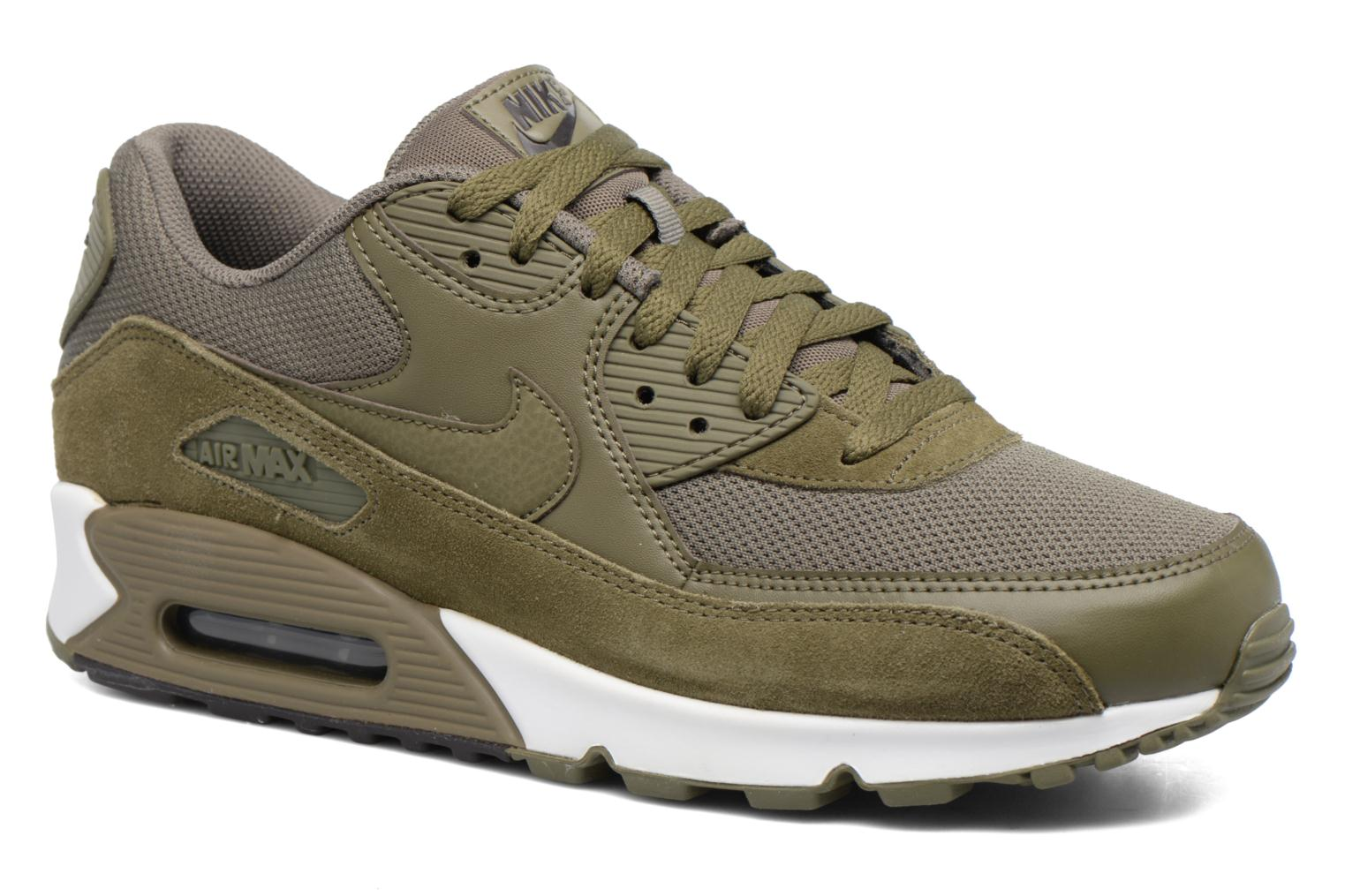 Nike Air Max 90 Essential Medium Olive/Medium Olive-Velvet Brown