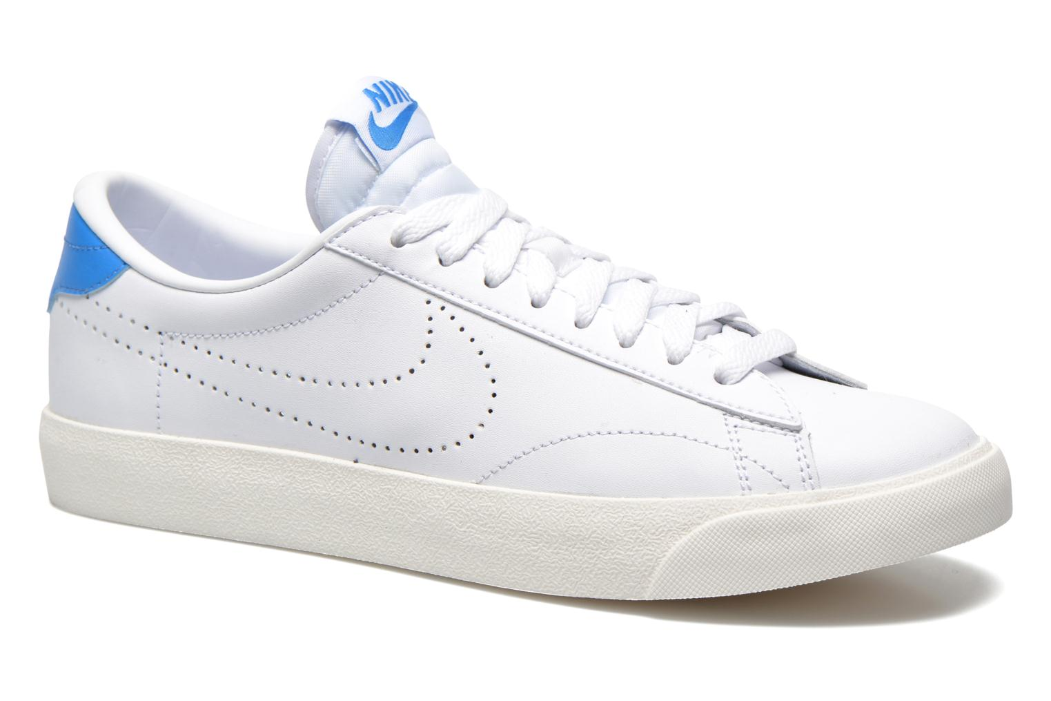 nike tennis classic blanche rouge