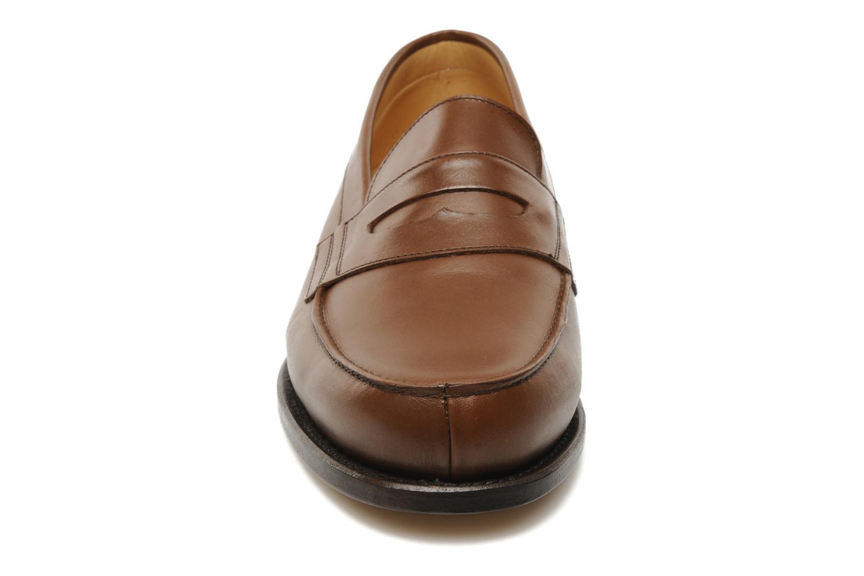 Mocassins Marvin&Co Armand Marron vue portées chaussures
