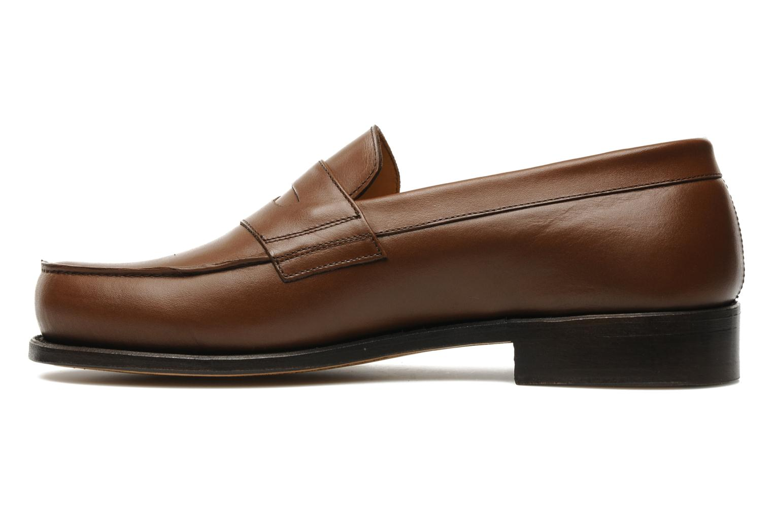 Mocassins Marvin&Co Armand Marron vue face