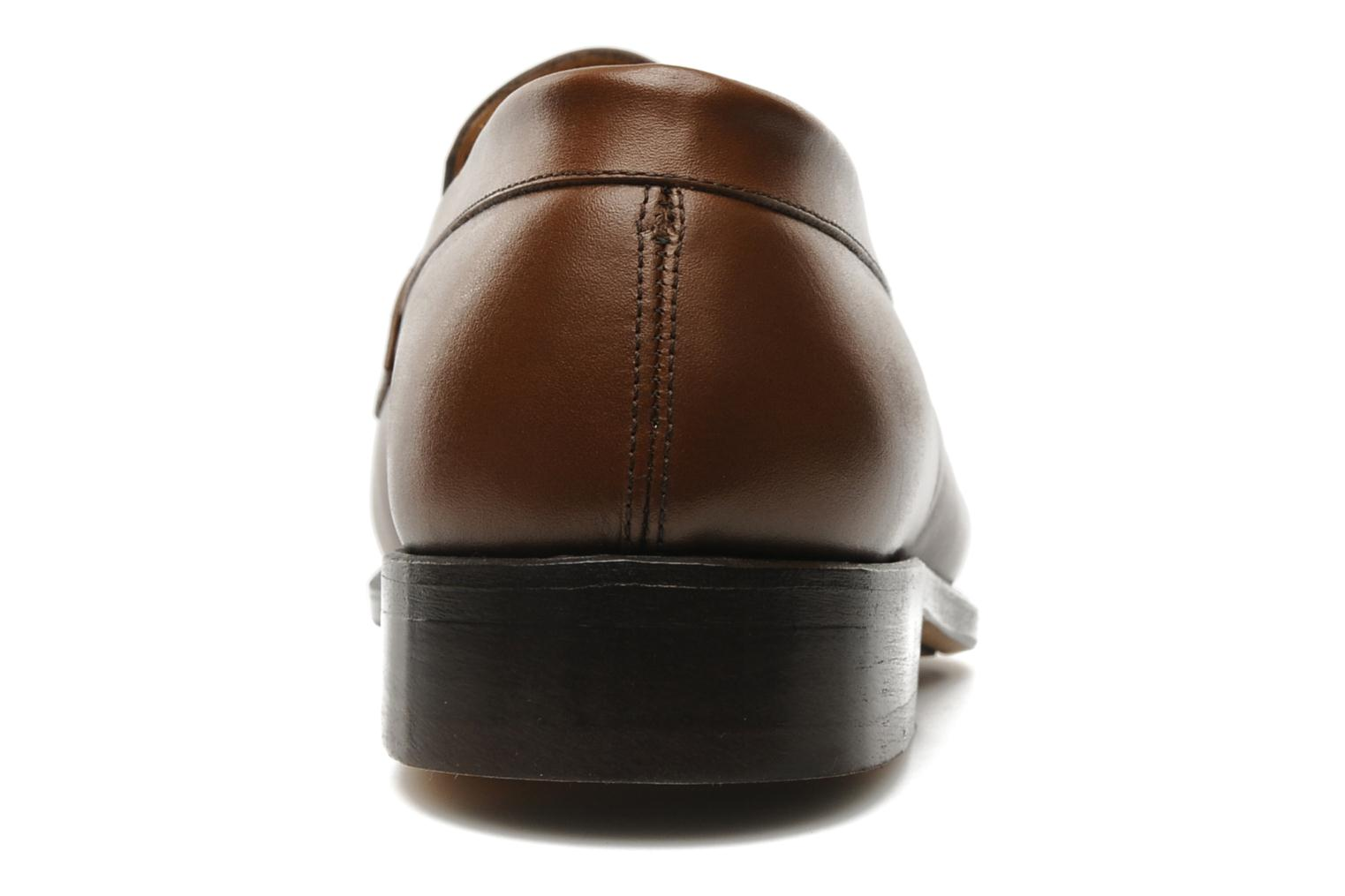 Mocassins Marvin&Co Armand Marron vue droite