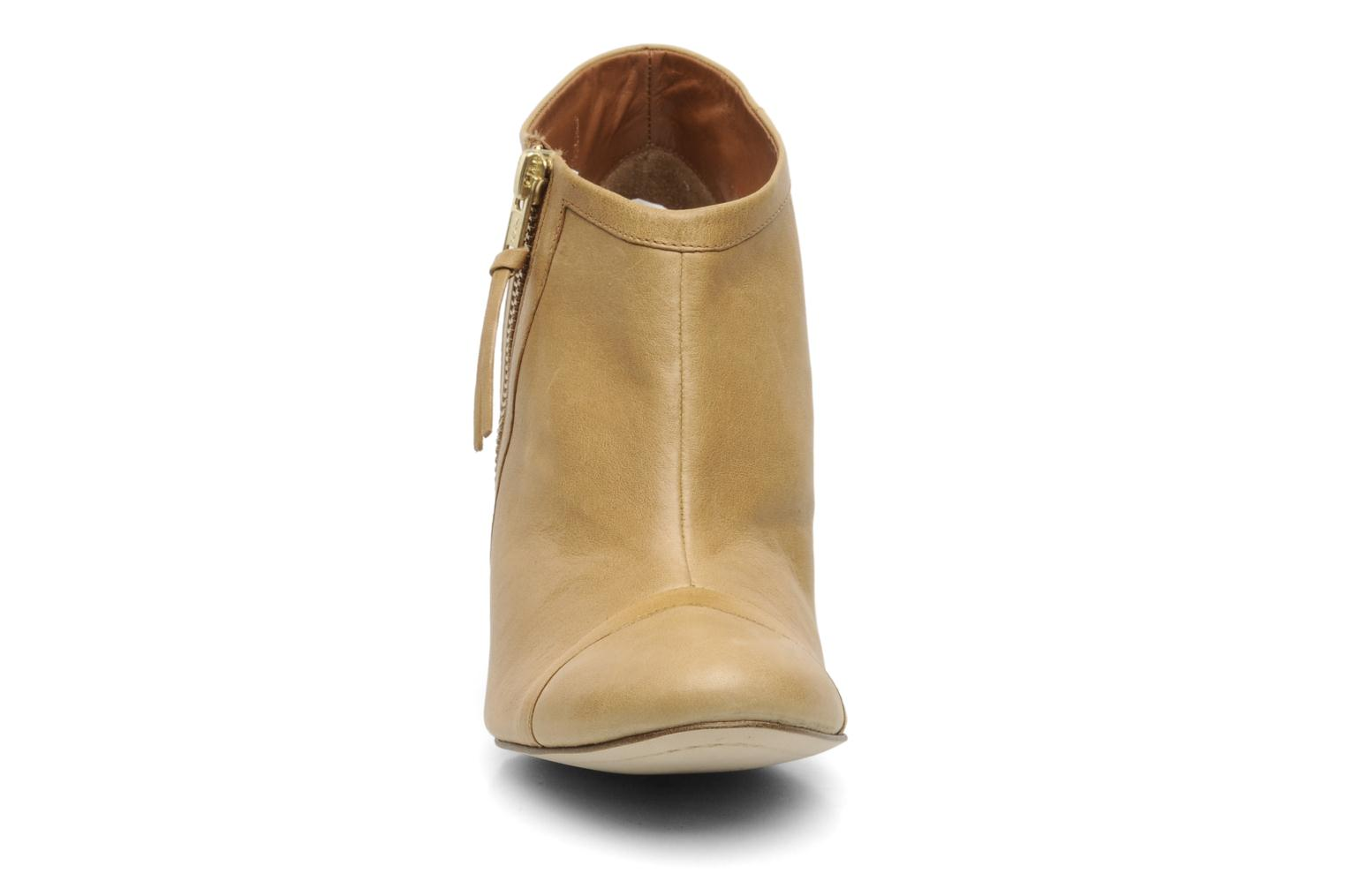 Ankle boots Bocage FLINAO Beige model view