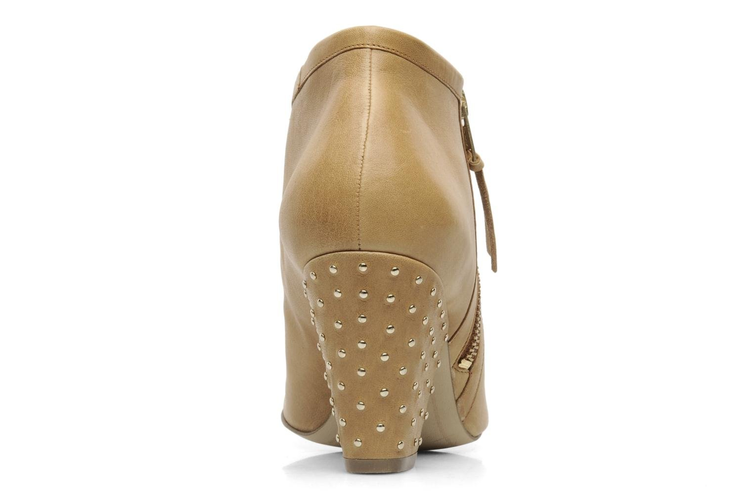 Ankle boots Bocage FLINAO Beige view from the right
