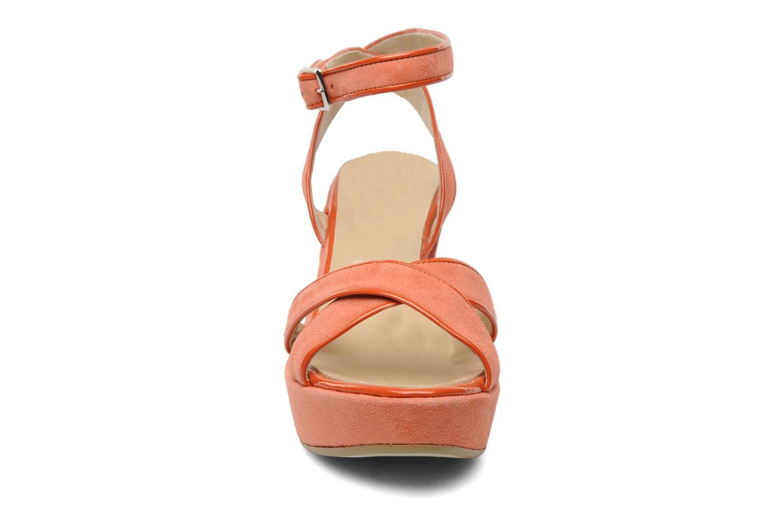 Sandales et nu-pieds Georgia Rose VICK Orange vue portées chaussures