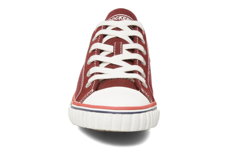 Baskets Dockers Tonio Bordeaux vue portées chaussures