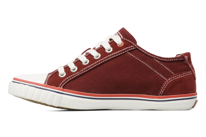 Sneakers Dockers Tonio Bordeaux voorkant