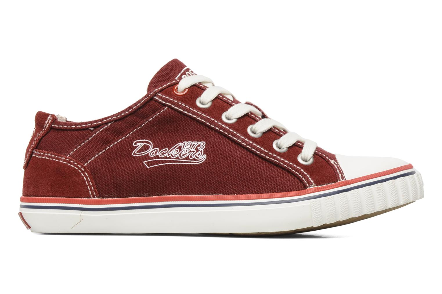 Sneakers Dockers Tonio Bordeaux achterkant