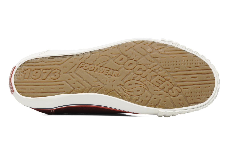 Sneakers Dockers Tonio Bordeaux boven