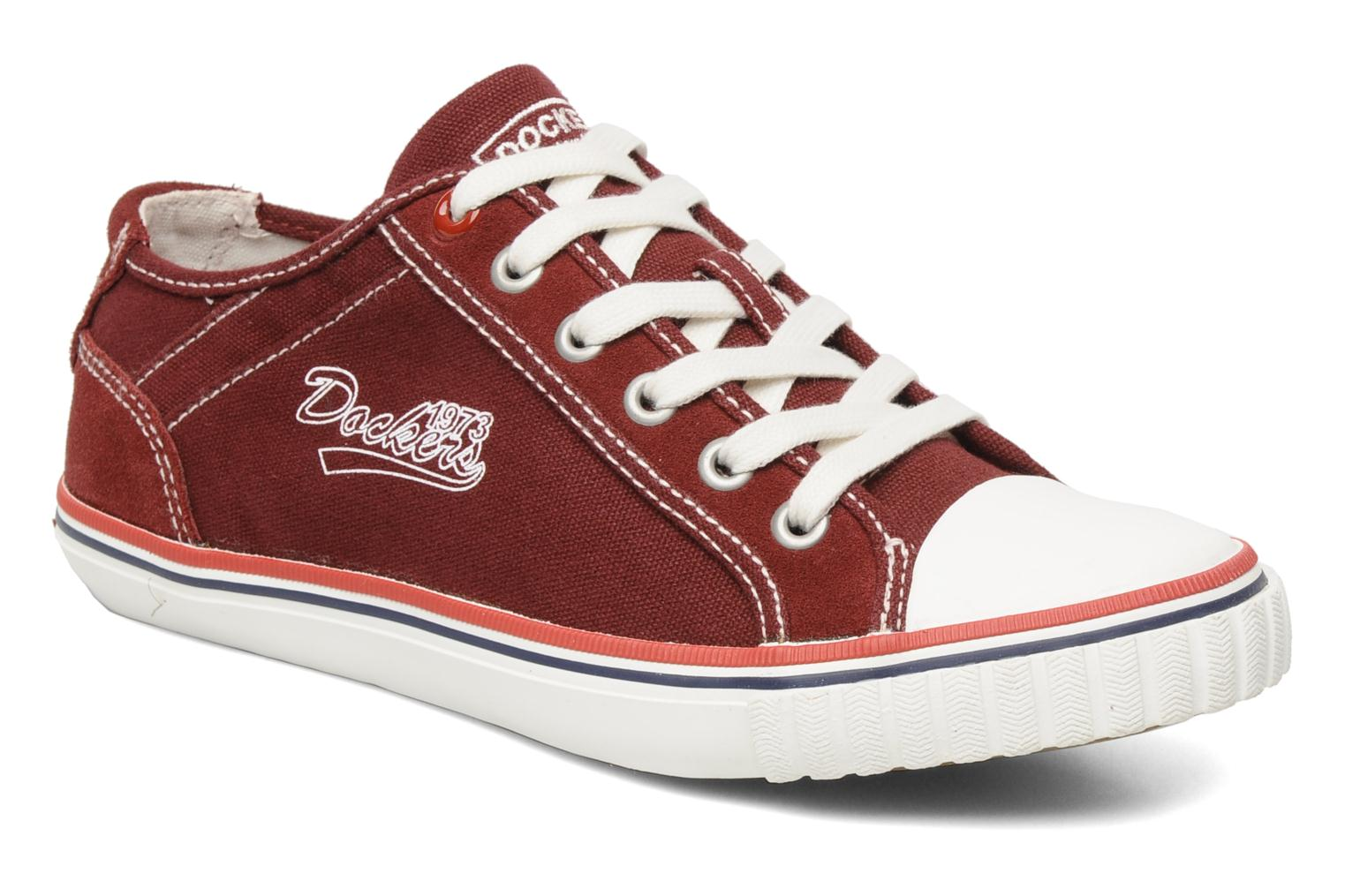 Sneakers Dockers Tonio Bordeaux detail