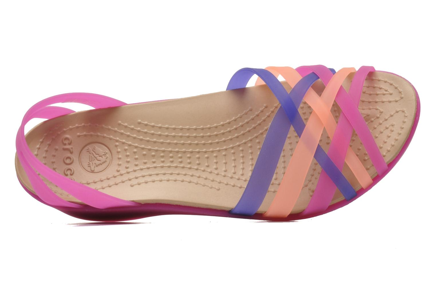 Huarache Mini Wedge Women Vibrant Violet/Melon