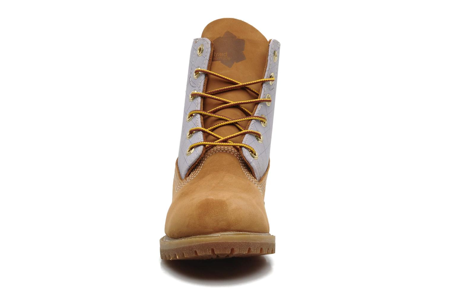 Bottines et boots Timberland 6in Nadège Winter Multicolore vue portées chaussures