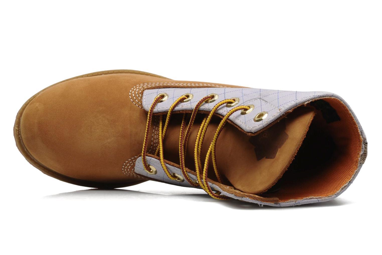 Bottines et boots Timberland 6in Nadège Winter Multicolore vue gauche