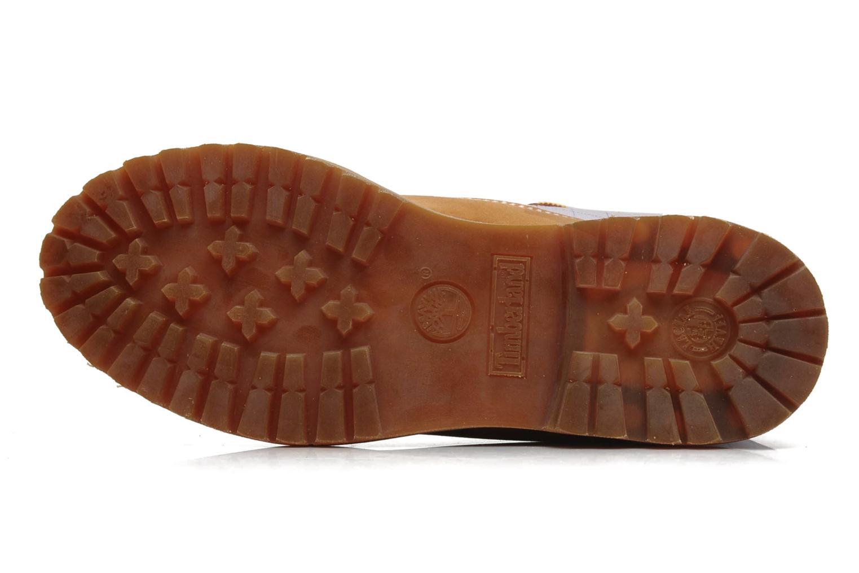 Bottines et boots Timberland 6in Nadège Winter Multicolore vue haut