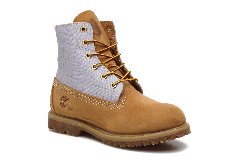 Bottines et boots Timberland 6in Nadège Winter Multicolore vue détail/paire