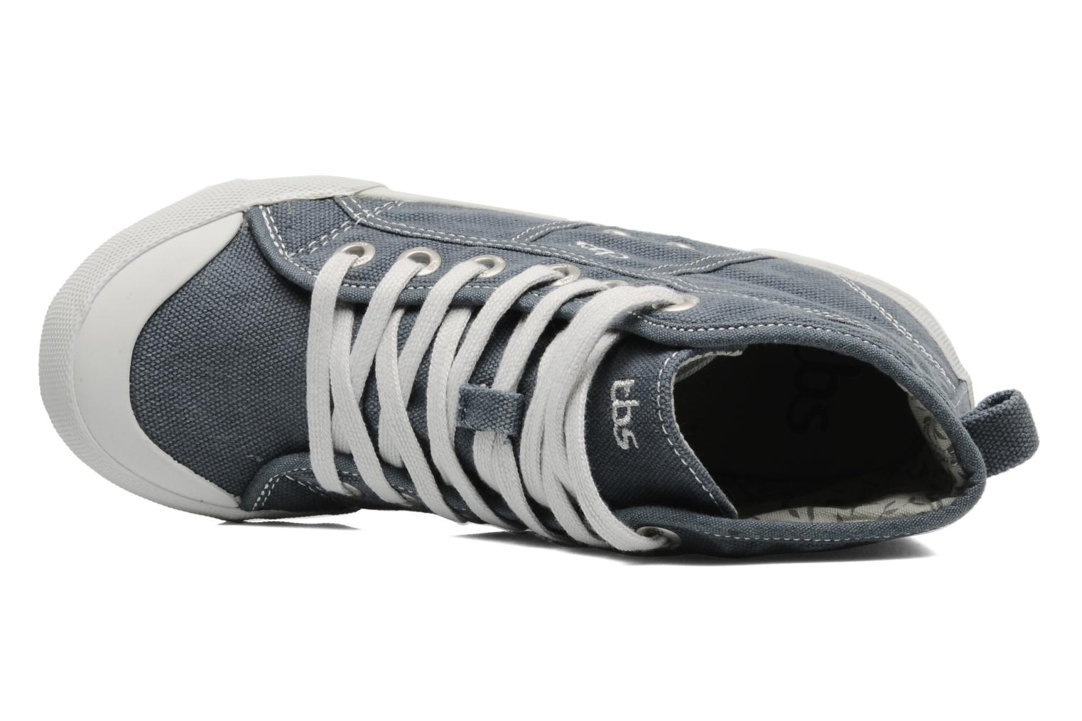 Trainers TBS Obelia Grey view from the left