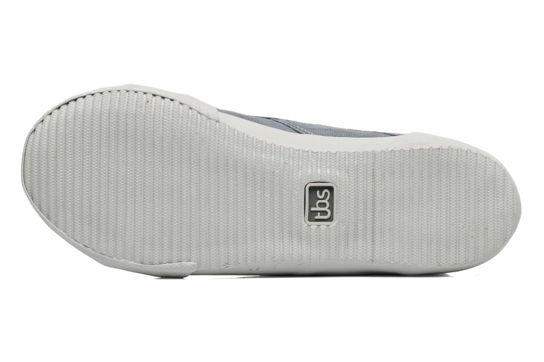 Sneaker TBS Obelia grau ansicht von oben