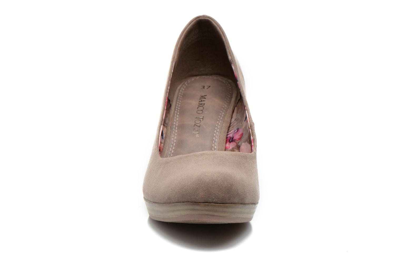 Escarpins Marco Tozzi Soe Beige vue portées chaussures