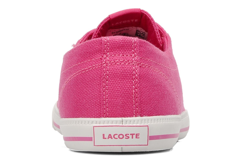 Sneakers Lacoste MARCEL JAW Roze rechts
