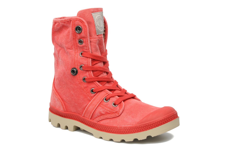 Sneakers Palladium Baggy CVS f Rood 3/4'