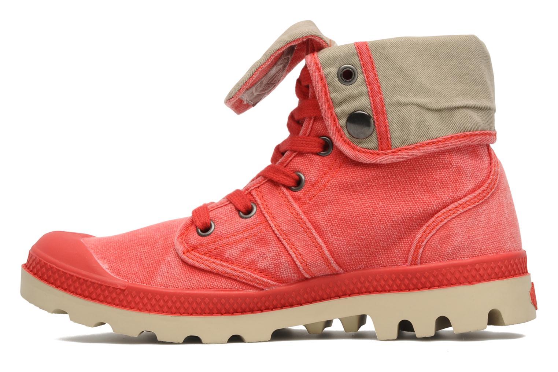 Sneakers Palladium Baggy CVS f Röd bild från framsidan
