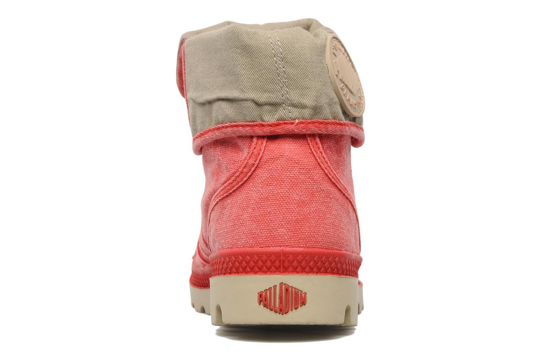 Sneakers Palladium Baggy CVS f Röd Bild från höger sidan