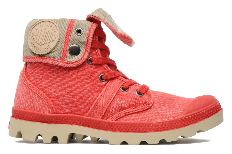 Sneakers Palladium Baggy CVS f Rood achterkant