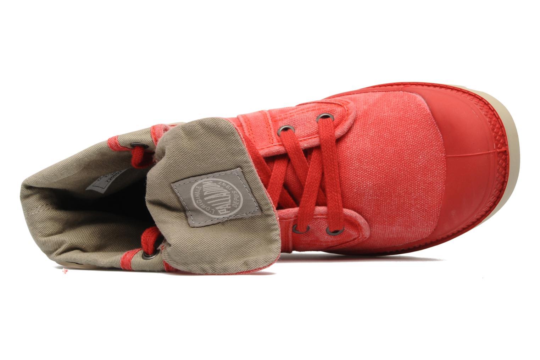 Sneakers Palladium Baggy CVS f Röd bild från vänster sidan