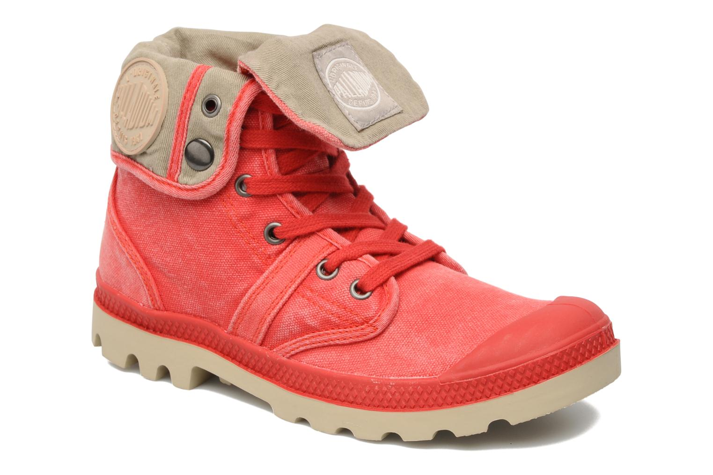 Sneakers Palladium Baggy CVS f Rood detail