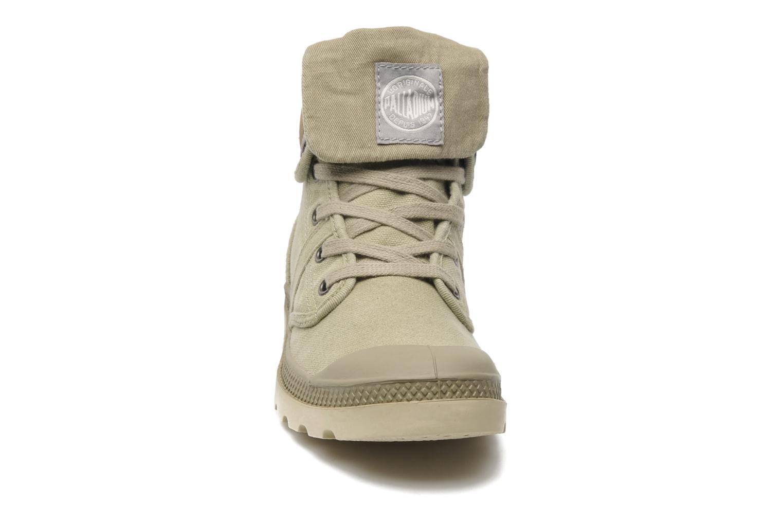Baskets Palladium Baggy CVS f Vert vue portées chaussures