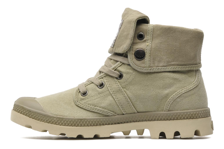 Sneakers Palladium Baggy CVS f Groen voorkant