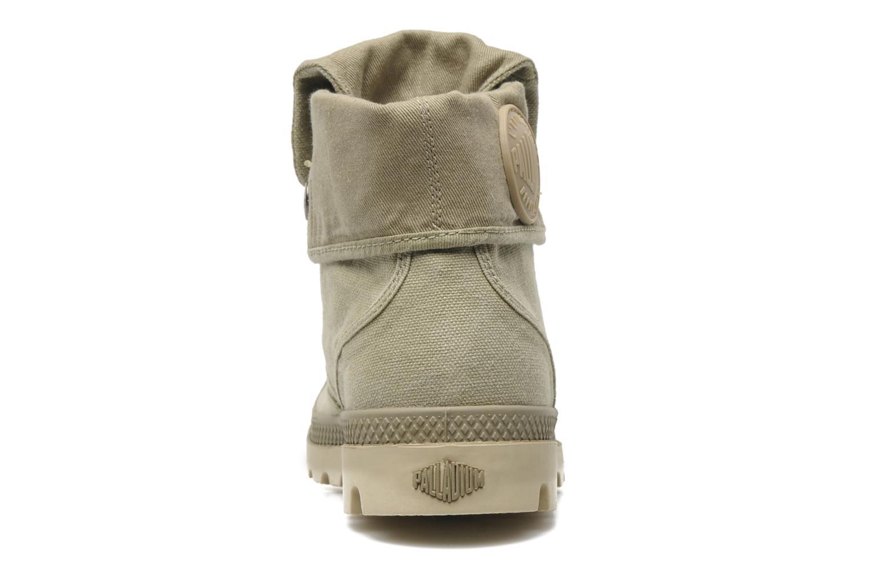 Sneakers Palladium Baggy CVS f Groen rechts