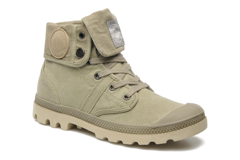 Sneakers Palladium Baggy CVS f Groen detail