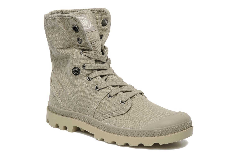 Sneakers Palladium Baggy m Beige 3/4'