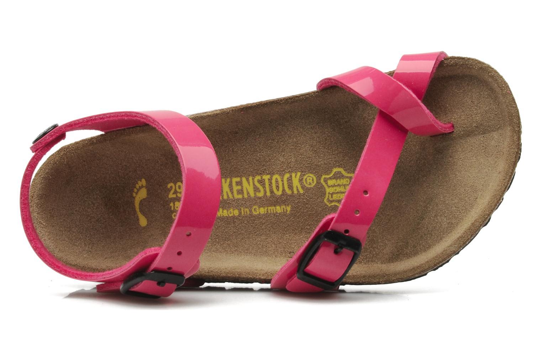 Sandals Birkenstock Taormina Birko-Flor Pink view from the left