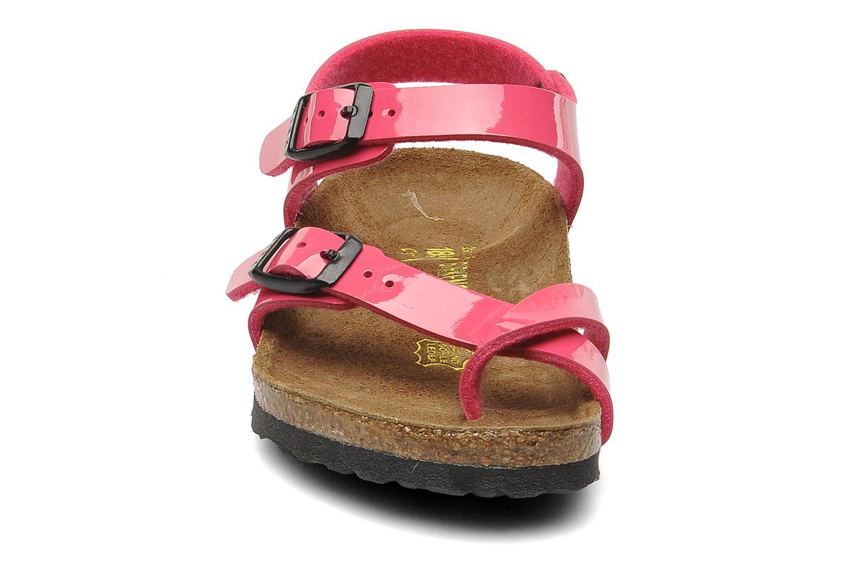 Sandals Birkenstock Taormina Birko-Flor Pink model view