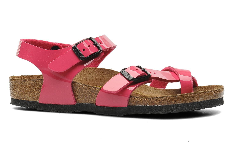 Sandalen Birkenstock Taormina Birko-Flor rosa ansicht von hinten