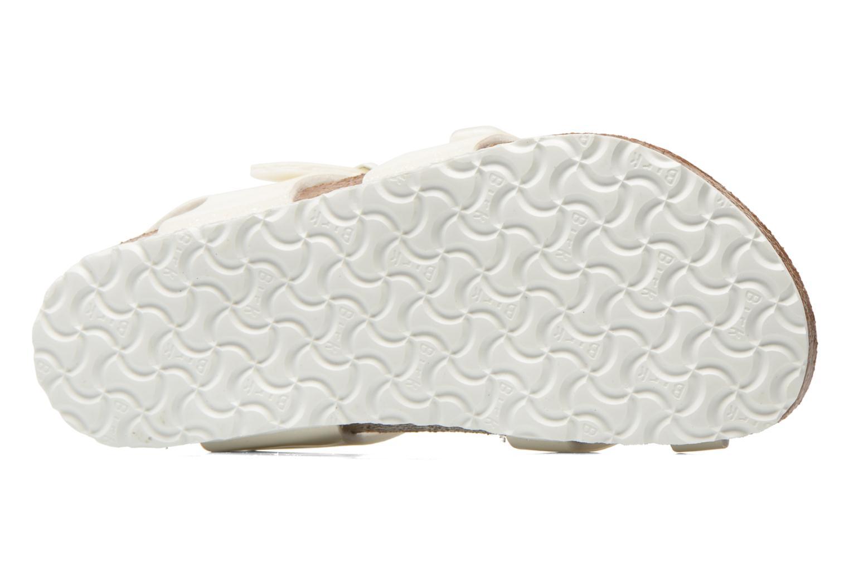 Sandals Birkenstock Taormina Birko-Flor White view from above