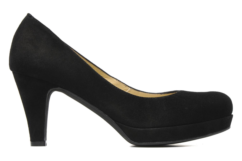 High heels Georgia Rose Taïma Black back view