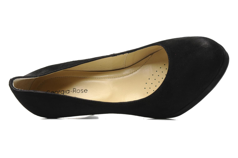 High heels Georgia Rose Taïma Black view from the left